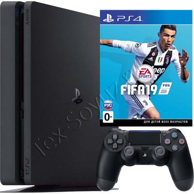 Sony PlayStation 4 Slim 1 TB и игра FIFA 19