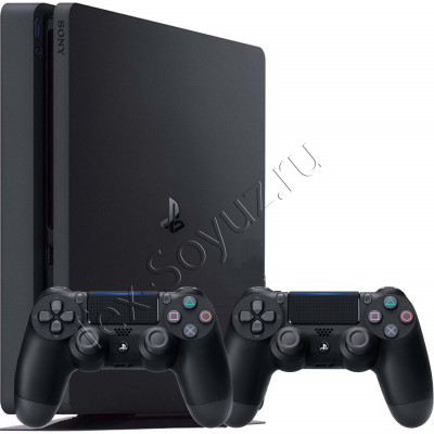 Sony PlayStation 4 Slim 1 TB + 2-й джойстик