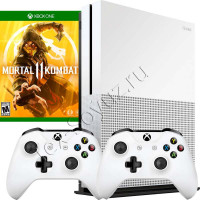 Miсrosoft Xbox One S 1TB, 2-й джойстик и игра Mortal Kombat 11