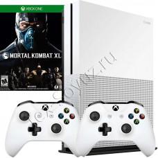 Miсrosoft Xbox One S 1TB, 2-й джойстик и Mortal Kombat XL
