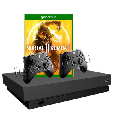 Miсrosoft Xbox One X 1TB, 2-й джойстик и Mortal Kombat 11