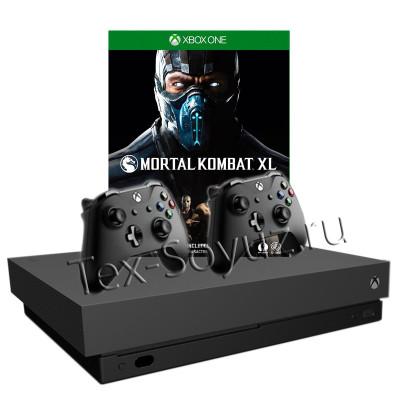 Miсrosoft Xbox One X 1TB, 2-й джойстик и Mortal Kombat XL