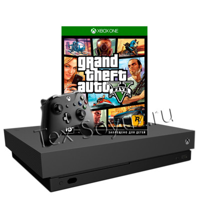 Miсrosoft Xbox One X 1TB и Grand Theft Auto V