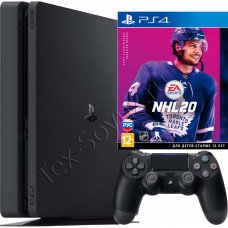 Sony PlayStation 4 Slim 1Tb с игрой NHL 20