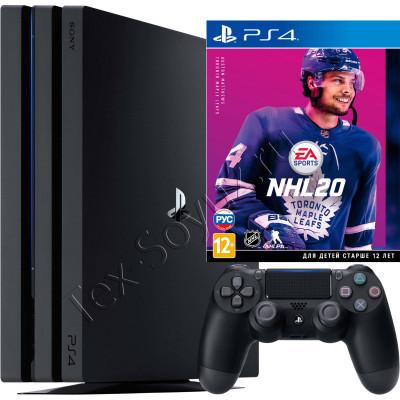 Sony PlayStation 4 PRO 1Tb с игрой NHL 20