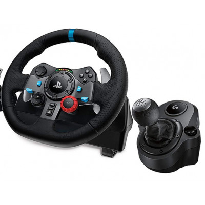 Игровой руль Logitech G29 Driving Force + Shifter для PlayStation 4