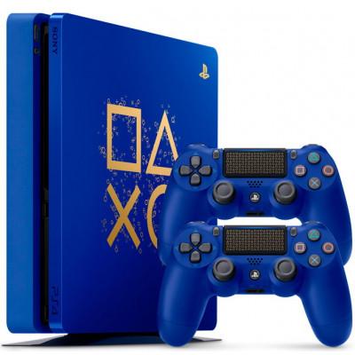 """Sony PlayStation 4 Slim 500 Gb """"Время играть""""- ограниченная серия"""