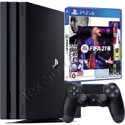 Sony PlayStation 4 PRO 1 TB и игра FIFA 21