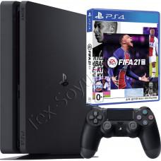 Sony PlayStation 4 Slim 500 Gb и игра FIFA 21