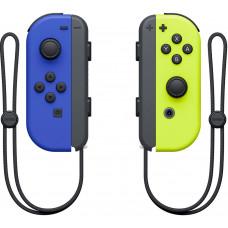 Контроллеры Nintendo Joy-Con неоновый (синий-желтый)
