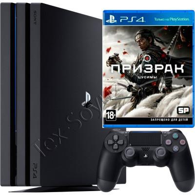 Sony PlayStation 4 PRO 1 TB и игра Призрак Цусимы