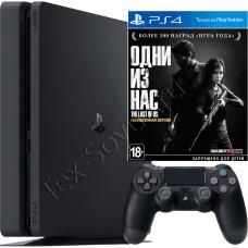 Sony PlayStation 4 Slim 500 Gb и игра Одни из нас
