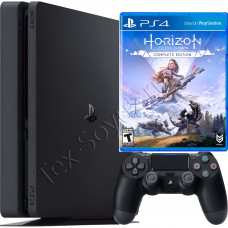 Sony PlayStation 4 Slim 1Tb с игрой Horizon Zero Dawn