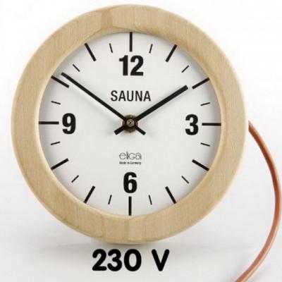 Электрические часы для сауны и парной - Круглые