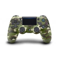 Геймпад Sony DualShock 4 V2 Green camouflage (зеленый камуфляж)