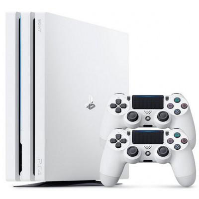 Sony PlayStation 4 PRO 1 TB + 2-й джойстик (Белая)