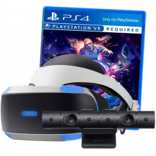 Sony PlayStation VR v2 + VR Worlds + PlayStation 4 Camera v2