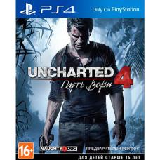 Uncharted 4: Путь вора для Sony PlayStation 4