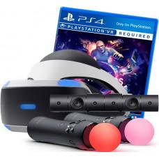 Sony PlayStation VR v2 + VR Worlds + PlayStation 4 Camera v2 + 2 контроллера Move